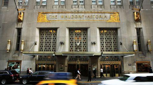 Anbang compró en 2015 el Waldorf Astoria Hotel de Nueva York en cerca de 2,000 millones de dólares. (AFP)
