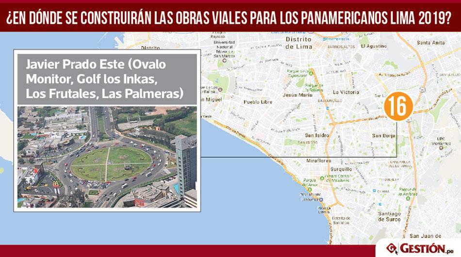 obras, obras viales para los Panamericanos Lima 2019, Panamericanos Lima 2019