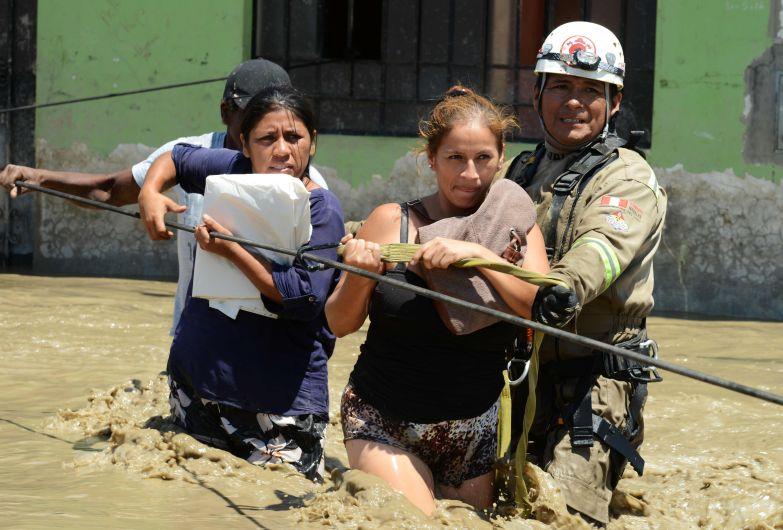 Huarmey, Huaicos en Perú, Fenómeno El Niño