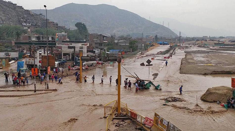 Perú, desastres naturales, Fenómeno El Niño, Fenómeno