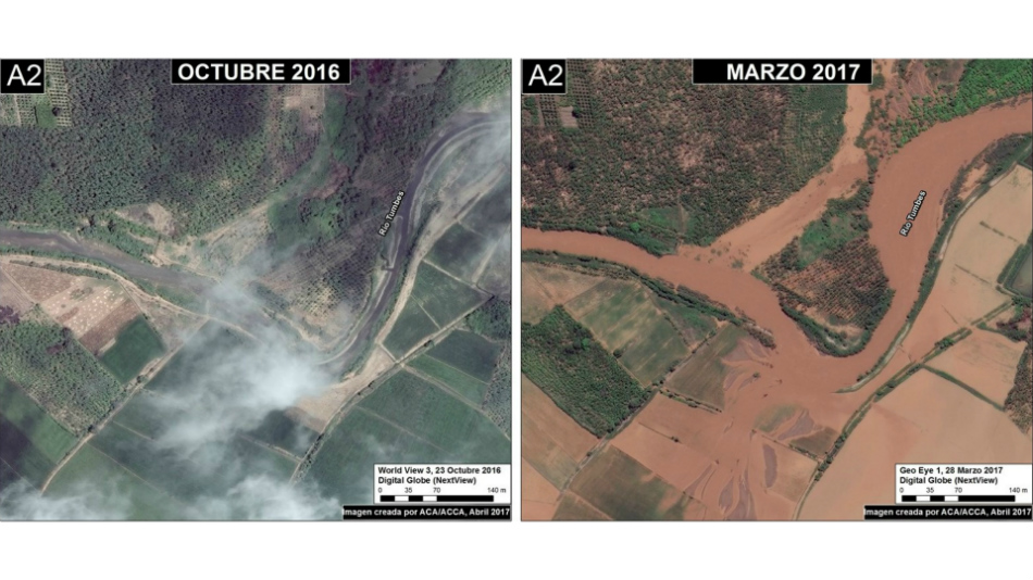 satélite, FEN, Maap Project, Niño Costerio
