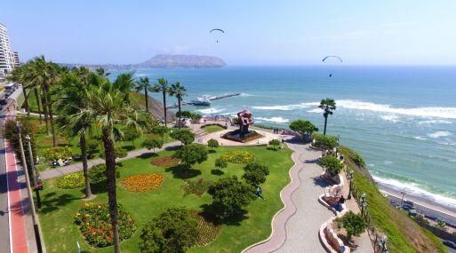 El distrito de Miraflores tiene 13 m2 de áreas verdes por habitante y se encuentra entre los ocho distritos con mayor área verde en Lima Metropolitana.