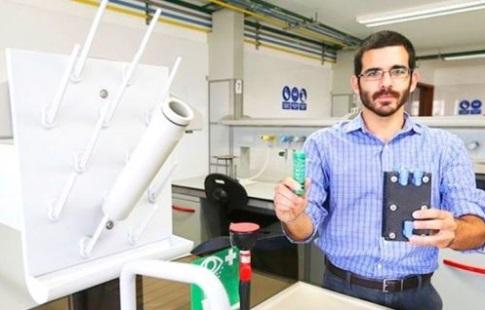 Peruano inventa dispositivo que reduce contaminación de combustibles y eleva su rendimiento