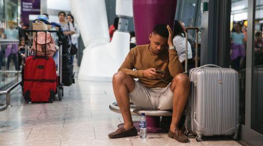 Con la ayuda de AirHelp, el 'dolor' de un vuelo cancelado o retrasado no es tan fuerte. (Foto: AFP)
