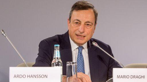 Mario Draghi, presidente del BCE. (Foto: AFP)