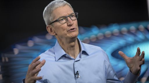Tim Cook, CEO de Apple. (Foto: Bloomberg)