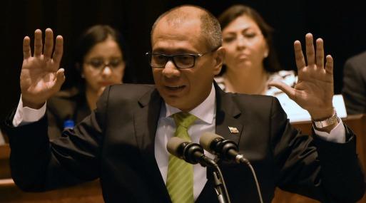 Jorge Glas, vicepresidente de Ecuador. (Foto: AFP)