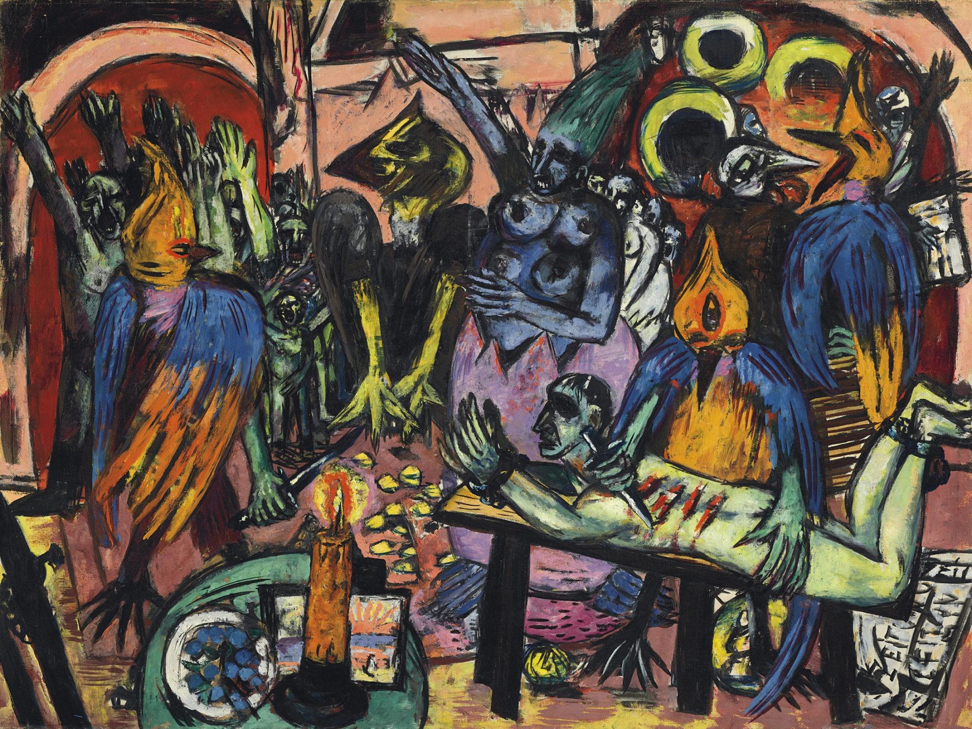 Alegoría nazi pintada por Max Beckmann bate récord en subasta