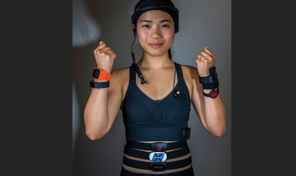 deporte, ejercicios, dispositivos, tecnolgía