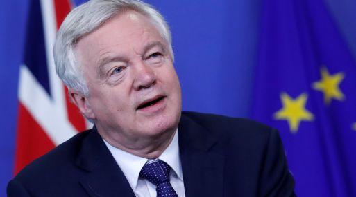 David Davis, ministro británico para el Brexit.