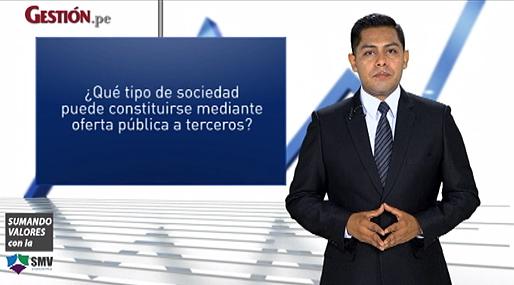 La constitución de sociedades por oferta pública a terceros