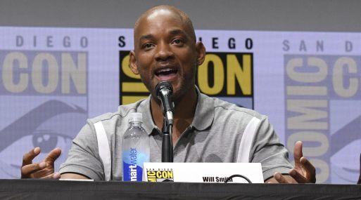 Will Smith en el Comic-Con de San Diego. (Foto: AP)