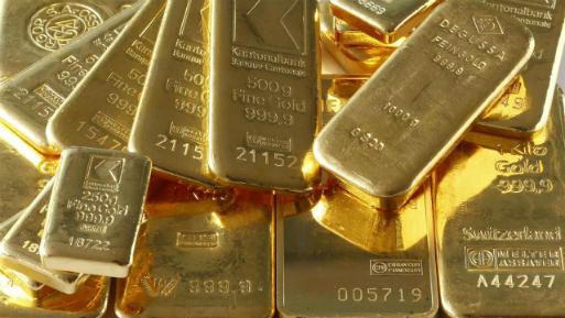 Los futuros del oro en Estados Unidos perdían un 0.1%, a US$ 1,267.6 la onza.