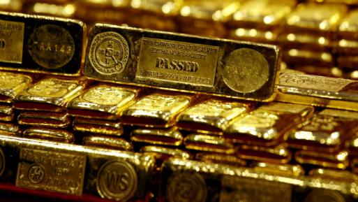 A las 1143 GMT, el oro al contado ganaba un 0.1%, a US$ 1,267.33 la onza.