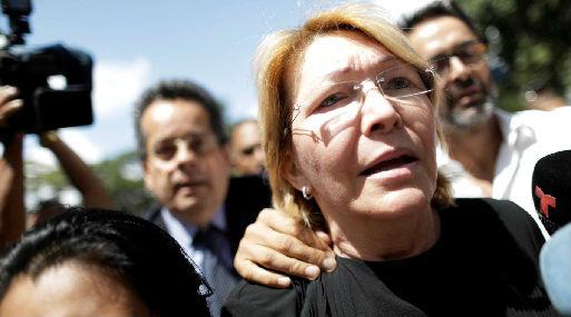 Luisa Ortega, fiscal destituida (foto: Reuters).