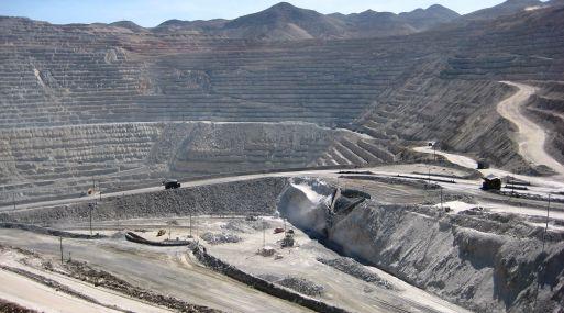 Mina de Toquepala de Southern Copper.