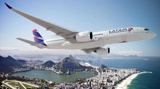 Con el resultado mensual, Latam Airlines acumuló un incremento del 1% entre enero y julio.