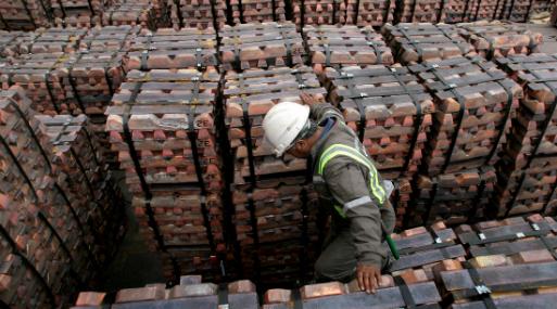 A las 1210 GMT, el cobre en la Bolsa de Metales de Londres (LME) perdía un 0.54% a US$ 6,497 la tonelada.