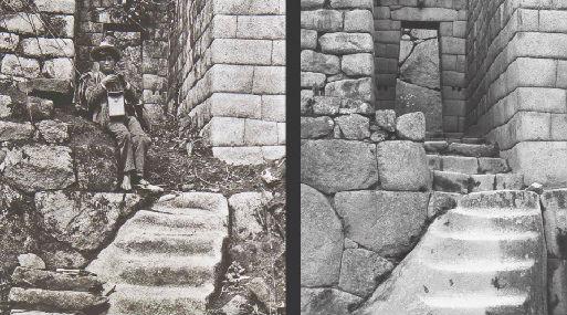 Esta es una de las fotos devueltas (izquierda) y su comparación con la imagen actual del mismo lugar (derecha). Foto: Ministerio de Cultura.