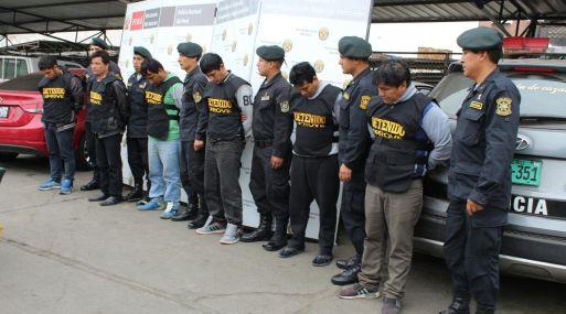 La PNP logró recuperar 2,780 vehículos que habían sido robados a sus propietarios en Lima