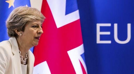 Primera ministra del Reino Unido, Theresa May.