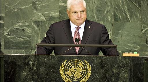 Expresidente panameño, Ricardo Martinelli. (Foto: Bloomberg)