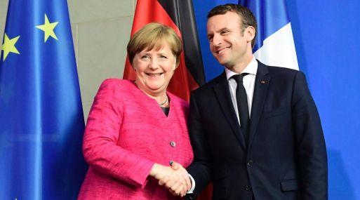 La canciller alemana, Angela Merkel, y el presidente francés, Emmanuel Macron, condenaron el nuevo ensayo nuclear de Corea del Norte.