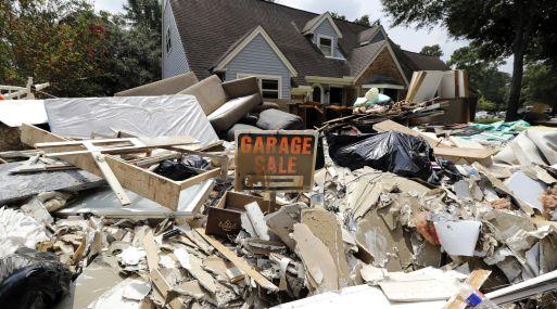 El huracán Harvey más potente que golpea Texas en 50 años (Foto: AP).