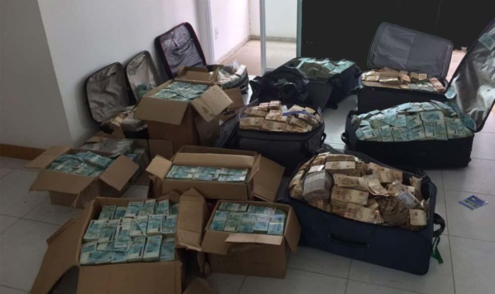 corrupción, dinero, billetes, fotos