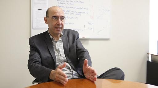 Presidente de Comité Textil del SNI, Leandro Mariátegui.