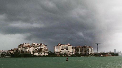 El huracán Irma se acerca a Florida (foto: AFP).