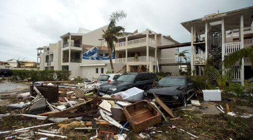 La isla antillana de San Martín fue destruida por el huracán Irma. (Foto: AFP)