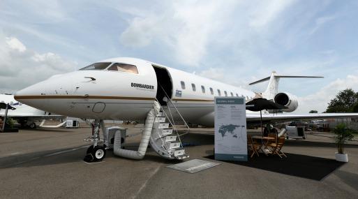 Sobre la base de cada vuelo, un jet privado podría generar tan poco como 2% de los impuestos y tasas pagadas por pasajeros de líneas aéreas en una ruta idéntica, encontró Bloomberg en su análisis. Foto: Bloomberg