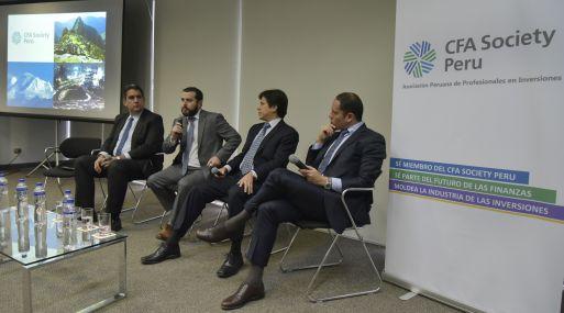 """""""Si el próximo año se reactivan algunos de los proyectos se puede reactivar aún más el mercado de emisiones locales"""", indicaron los especialistas del CFA Society Perú."""
