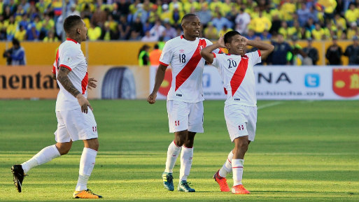 La selección peruana venció a Ecuador en la última fecha de las Eliminatorias.