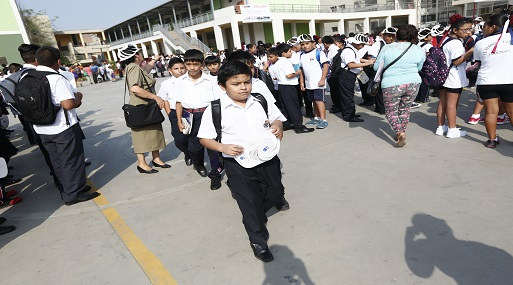 Ministerio de Educación presentó, en su portal web, el calendario para recuperar las clases que se perdieron por la huelga . (Foto: USI)