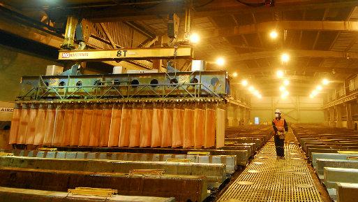 Último reporte del MEM muestra los resultados de los principales metales que el país produce. (Foto: USI)