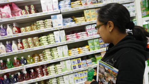 El consumo de productos de higiene personal es menor al de otros países de la región. (Foto: USI).