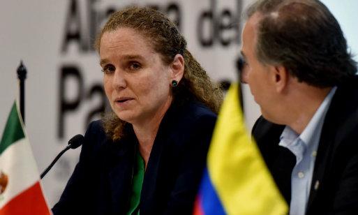 Claudia Cooper es la viceministra de Economía desde el inicio del gobierno de PPK (Foto: Andina).