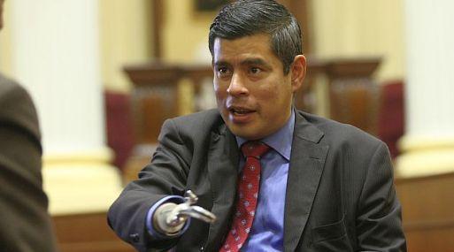 El presidente del Congreso, Luis Galarreta, deseó éxitos a Mercedes Aráoz y todo su gabinete ministerial.