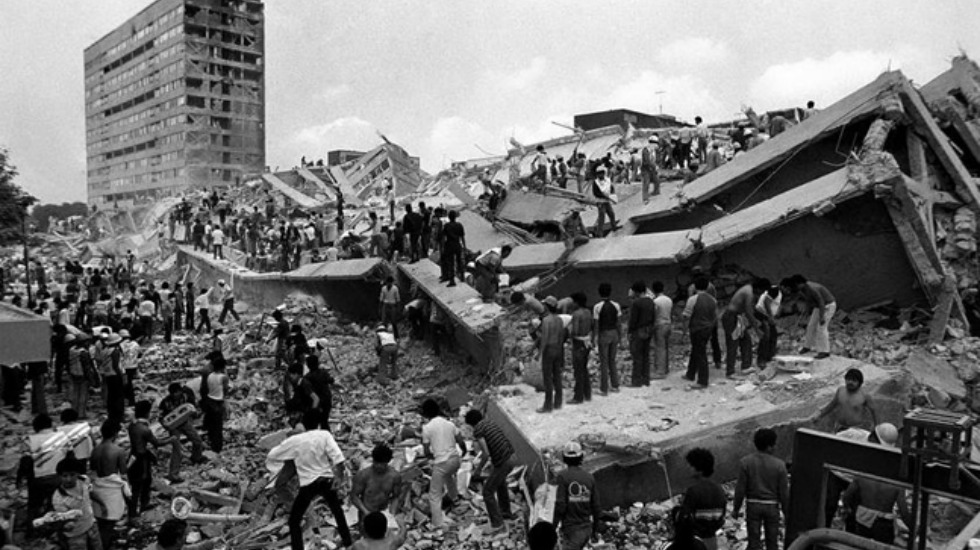 fotos, terremoto en México, sismo en México
