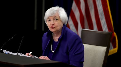 Janet Yellen, presidenta de la FED (Foto: Reuters)