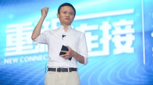 Presidente de la junta del gigante chino Alibaba Group Holding, Jack Ma.