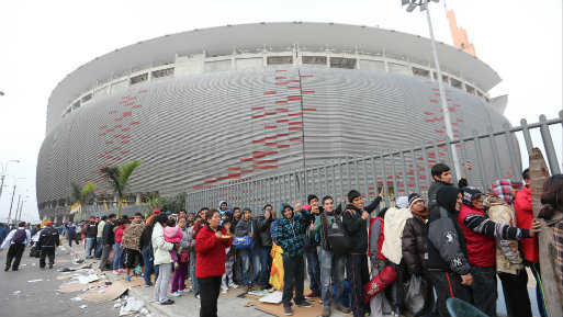Las entradas para el Perú vs Colombia se venden desde el 29 de septiembre. (Foto: USI).