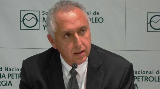El presidente de la Sociedad de Minería, Petróleo y Energía, Luis Marchese. (Foto: IIMP)