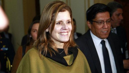 """""""Gracias al impulso de estas medidas estamos convencidos que llevaremos al crecimiento potencial del Producto Bruto Interno (PBI) al 4% el próximo año"""", dijo Mercedes Aráoz (Foto: Andina)."""