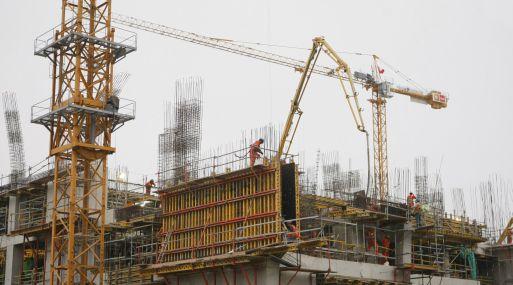 En agosto 2017, el sector Construcción se incrementó 4.78%, según el INEI.