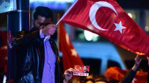 """""""La UE nos falló en un combate contra el terrorismo"""", declaró Erdogan."""