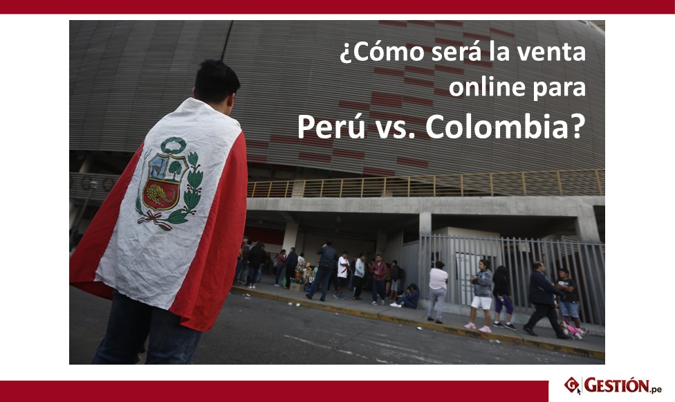 Teleticket, Rusia 2018, Perú vs Colombia