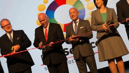 El ministro Ferreyros inauguró la séptima edición del Perú Service Summit. (Foto: Difusión).